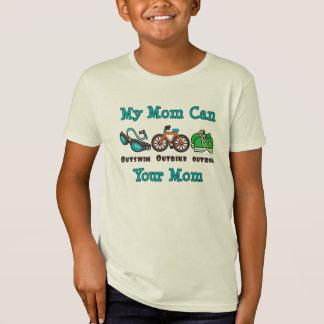 Mom Triathlon Kid Organic T-shirt