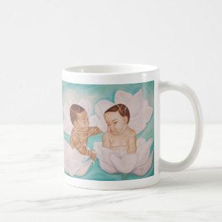 Mom we love you ! basic white mug