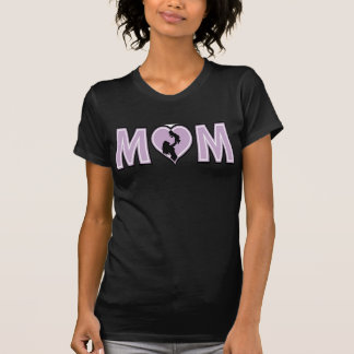 Mom with baby tee shirt