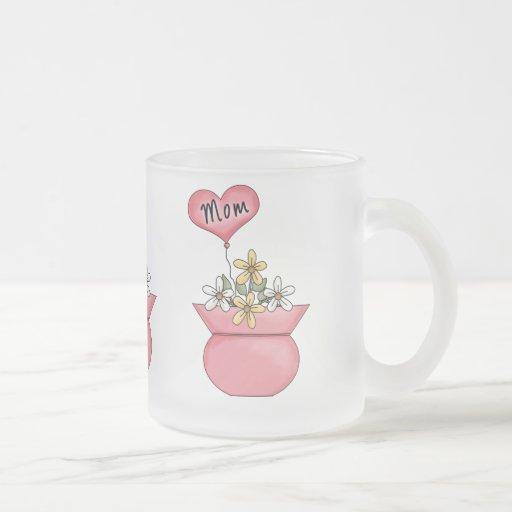 Mom With Heart Balloon - Great Gift Idea Mugs