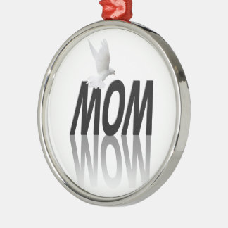 Mom = Wow Ornaments