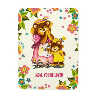 Mom, You're Loved. Mother's Day Gift Magnets