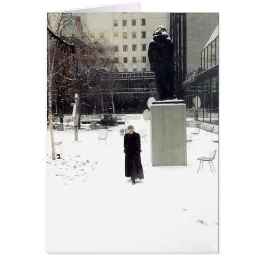 MoMA Sculpture Garden: www.AriesArtist.com Card