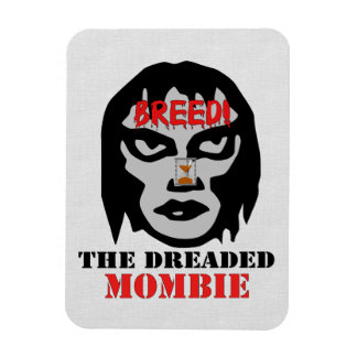 Mombie Breeder Rectangular Photo Magnet