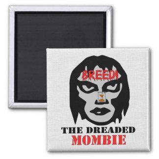 Mombie Breeder Square Magnet