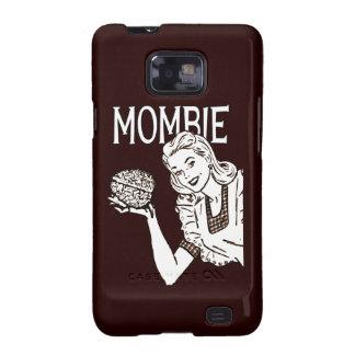 Mombie Retro Zombie Samsung Galaxy S2 Cases