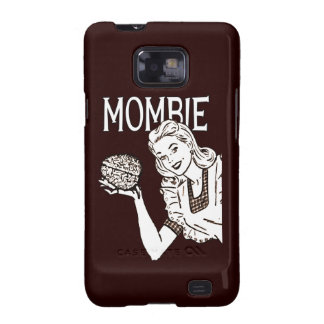 Mombie Retro Zombie Samsung Galaxy S Case