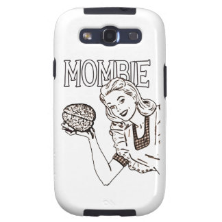 Mombie Retro Zombie Samsung Galaxy S3 Covers