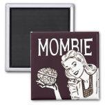 Mombie Retro Zombie Magnet