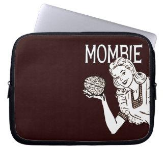 Mombie Retro Zombie Mom Laptop Sleeve