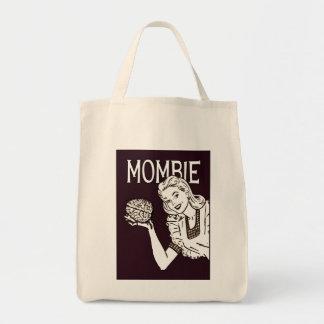 Mombie Retro Zombie Tote Bag