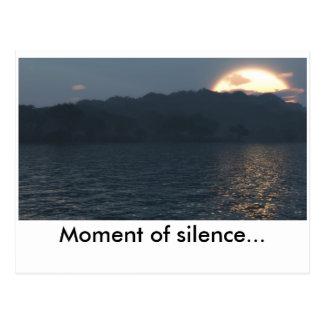 Moment de silence(Full HD), Moment of silence... Postcard