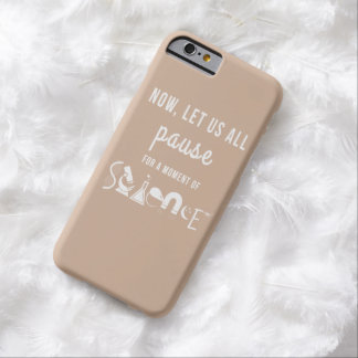 Moment of Science Beige iPhone 6 Case Barely There iPhone 6 Case