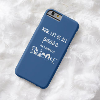 Moment of Science Blue iPhone 6 Case Barely There iPhone 6 Case