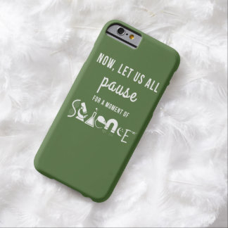 Moment of Science Green iPhone 6 Case Barely There iPhone 6 Case