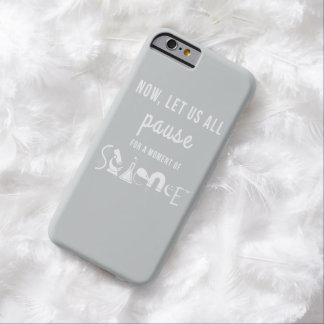 Moment of Science Light Gray iPhone 6 Case Barely There iPhone 6 Case