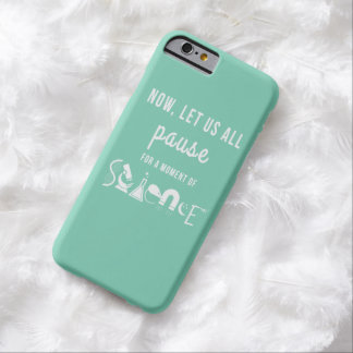 Moment of Science Turquoise iPhone 6 Case Barely There iPhone 6 Case