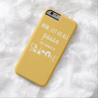 Moment of Science Yellow iPhone 6 Case Barely There iPhone 6 Case