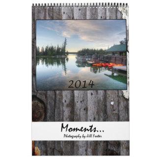 Moments 2014 calendar