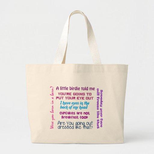 Momism Tote Bag