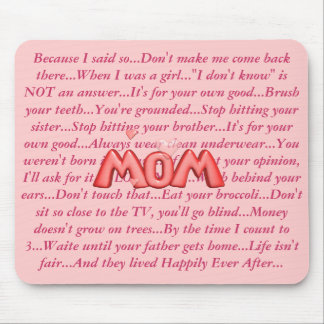 MOMisms... Mouse Mat