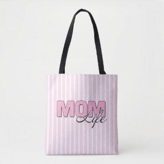 MomLife All-Over-Print Tote Bag