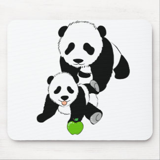 Momma and Baby Panda Mouse Pad