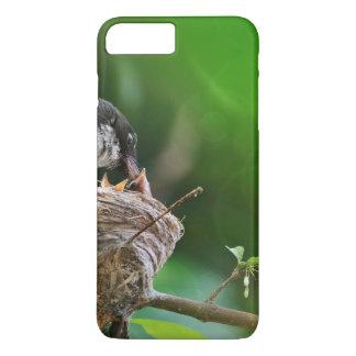 Momma Bird Feeding Baby iPhone 7 Plus Case