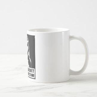 Momma Didn't Raise No Victim! Basic White Mug
