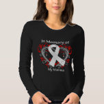 Momma - In Memory Lung Cancer Heart Shirt