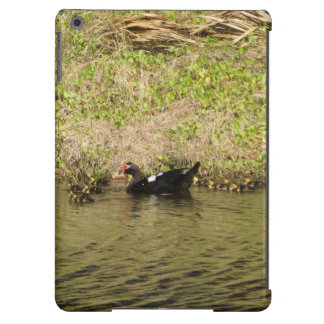 Momma Muscovy and Baby Ducks iPad Air Covers
