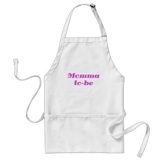 Momma to be apron