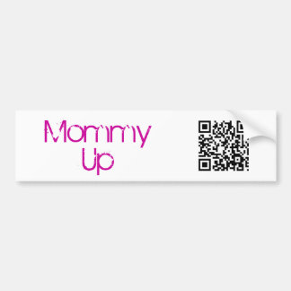 Momma University, Mommy Up Bumper Sticker