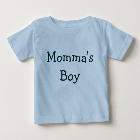 Momma's Boy Baby T-Shirt