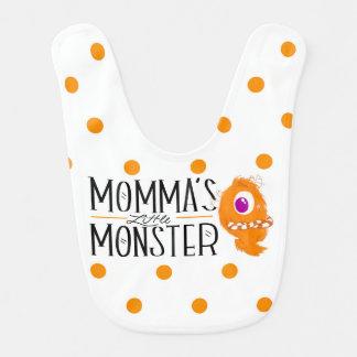 Momma's Little Monster Bib