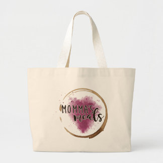 Momma's Meals Jumbo Grocery Tote