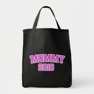 Mommy 2010 grocery tote bag