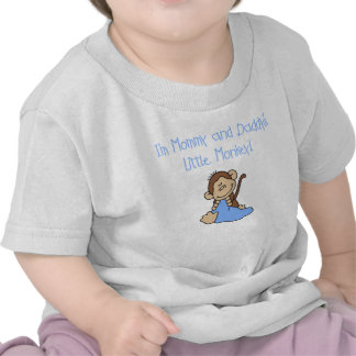 Mommy and Daddy's Boy Monkey T-shirts