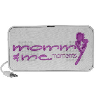Mommy and Me Moments logo speakers