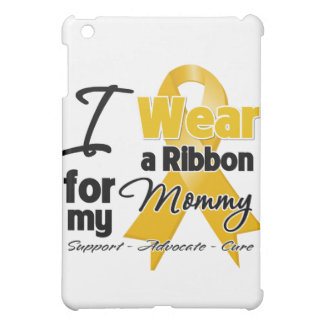 Mommy - Appendix Cancer Ribbon Cover For The iPad Mini