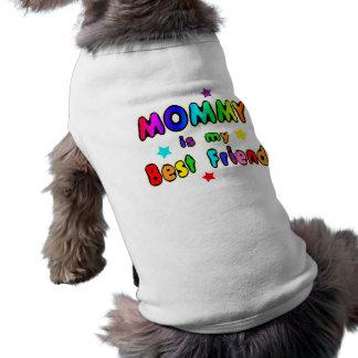 Mommy Best Friend Sleeveless Dog Shirt