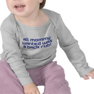 mommy blue t shirt