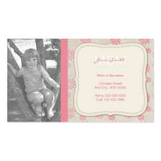 Mommy Custom Photo Calling Card Pack Of Standard Business Cards