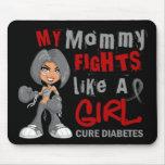 Mommy Fights Like Girl 42.9 Diabetes Mousepad
