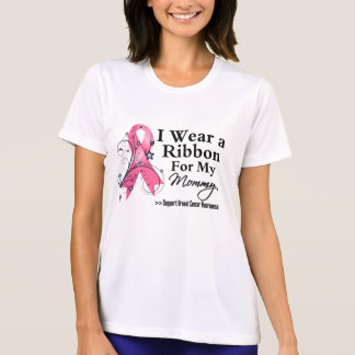 Mommy Floral Ribbon - Breast Cancer T-shirt
