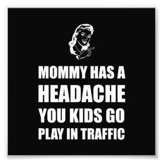 Mommy Headache Photo