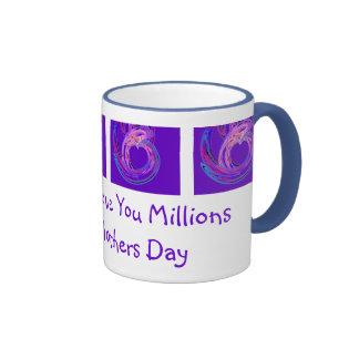 Mommy I Love You Millions Ringer Mug