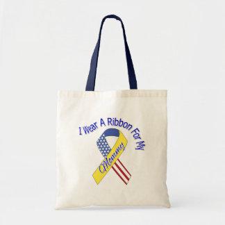 Mommy - I Wear A Ribbon Military Patriotic Bag