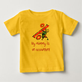Mommy is an Accountant baby shirt