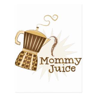 Mommy Juice Postcard